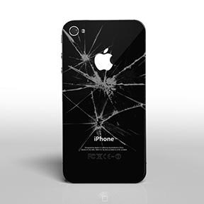 Iphone 5 Broken Or Smashed Back Case