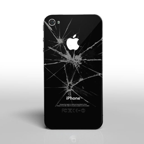 Iphone 7 Broken Smashed Back Case