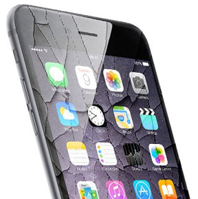Replace a cracked screen/digitiser on an iPhone 6