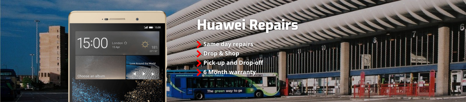 Huawei Mobile Repairs Preston