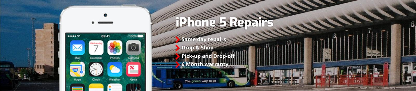 Iphone 5 Repairs Preston