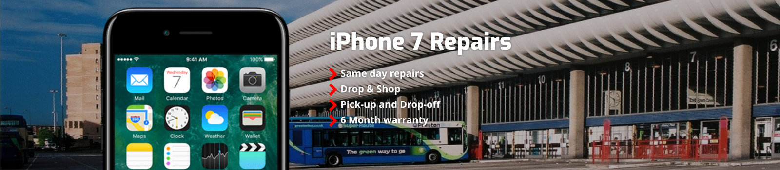 Iphone 7 Repairs Preston