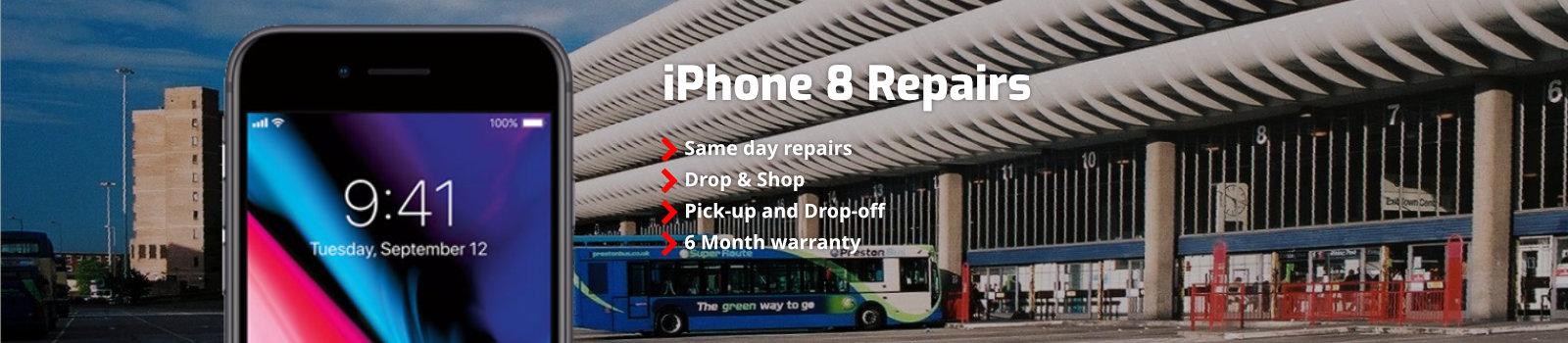 Iphone 8 Repairs Preston