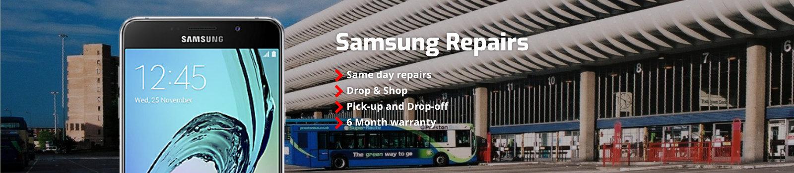 Samsung Repairs Preston